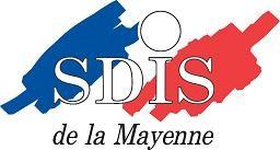 Logo du Service Départemental d'Incendie et de Secours de la Mayenne