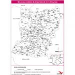 Illustration Cantons du département de la Mayenne (en noir et blanc)