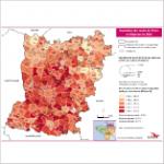 Illustration Population des moins de 20 ans en Mayenne en 2011