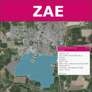 Illustration Groupe thématique ZAE à Laval