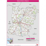 Illustration Routes prioritaires en Mayenne