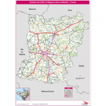 Illustration Sections de trafic routier en Mayenne 2015