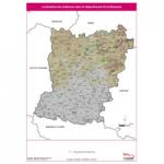 Illustration Localisation des éoliennes en Mayenne