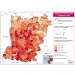 Illustration Population des moins de 20 ans en Mayenne en 2012