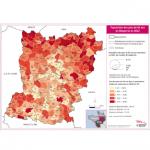 Illustration Population des plus de 65 ans en Mayenne en 2012