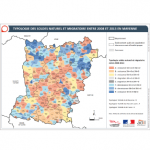 Illustration ODH A1 - Typologie soldes naturel et migratoire 2008-2016 en Mayenne