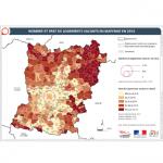 Illustration ODH B1 - Logements vacants en Mayenne en 2016 (Insee)
