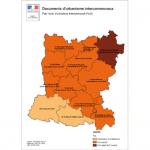 Illustration ODH F2 - Etat d'avancement des démarches de PLUi en Mayenne