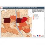 Illustration ODH D1 – Ventes de maisons à Laval entre 2011 et 2015