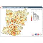 Illustration ODH D1 – Ventes de maisons en Mayenne entre 2011 et 2015