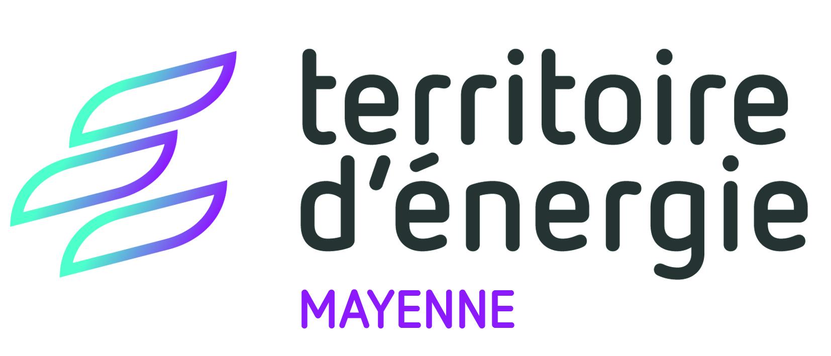 Logo du Territoire d'énergie Mayenne