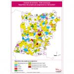 Illustration Contrats de territoire - volet communal - Répartition des projets par programme au 11/06/2018