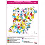 Illustration Contrats de territoire - volet communal - Répartition des projets pour le développement local au 08/06/2020